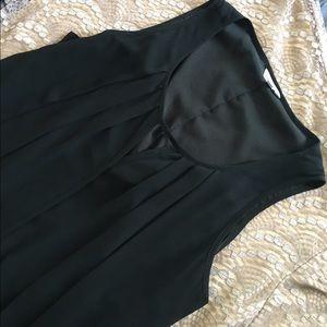 🍍2 for $10! LBD keyhole chiffon overlay dress