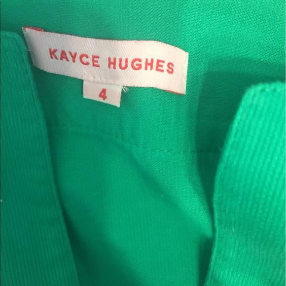 kayce Hughes Dresses - Kayce Hughes Belted Sheath Dress