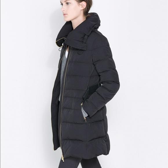 d1e2b54b Zara Jackets & Coats   Spring Closet Cleanoutpreloved Down Coat ...