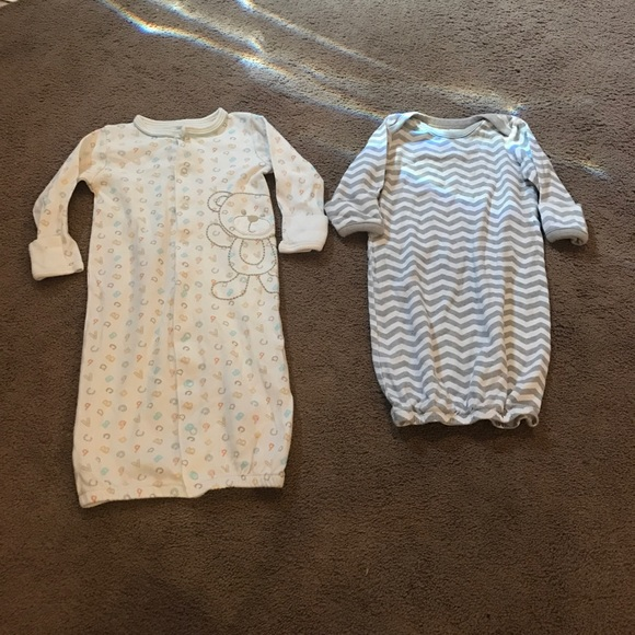 Skip Hop One Pieces | 2 Baby Boy Sleep Gowns Newborn | Poshmark