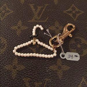 nOir Jewelry Accessories - Noir Pearl Hanger Barbie Charm