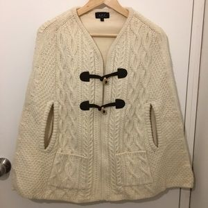APC Fisherman knit Poncho