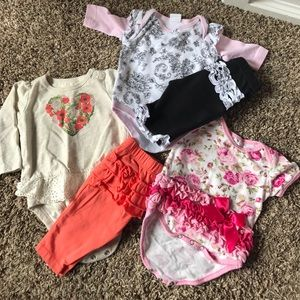 Other - 3 for $15! Three newborn outfits