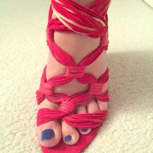 Boutique 9 Shoes - Boutique 9 wedged sandals - OBO