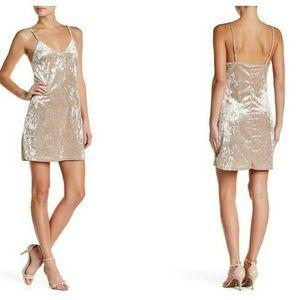 Velvet Slip Dress by Vanity Room