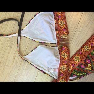 Victoria's Secret Swim - Victoria's Secret Boho indian pattern bikini