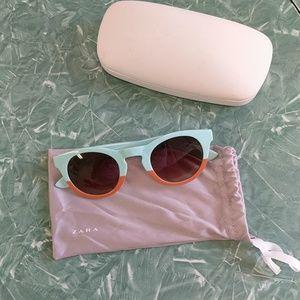 24th & Ocean Accessories - Zara Colorblock Sunglasses