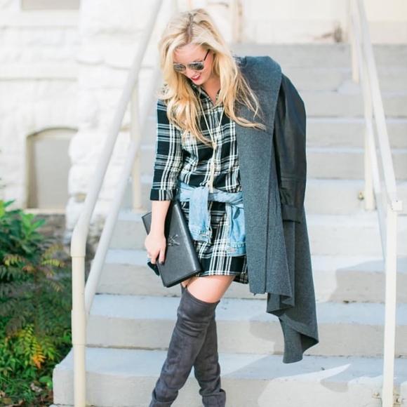 Madewell Dresses & Skirts - Madewell plaid shirt dress