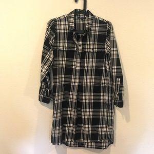 Madewell Dresses - Madewell plaid shirt dress