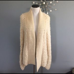 Anthropologie sleeping on snow sweater coat