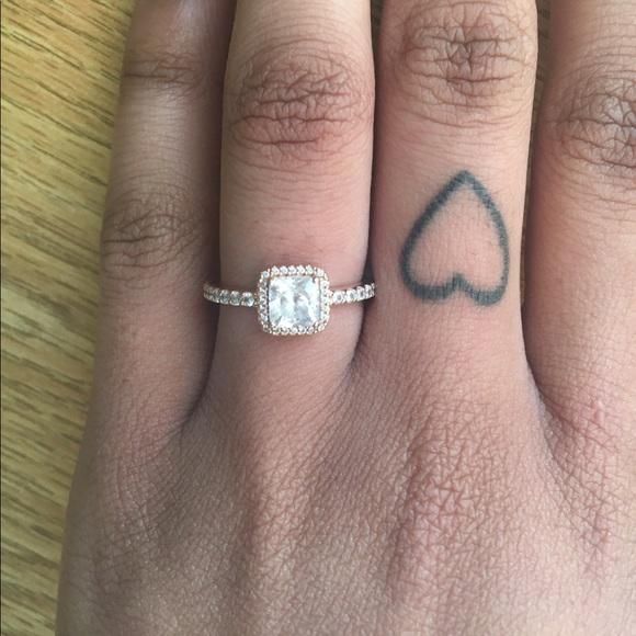 f2bb1ae35 Rose Gold Timeless Elegance Pandora Ring. M_58ea8c156802782822015a1e