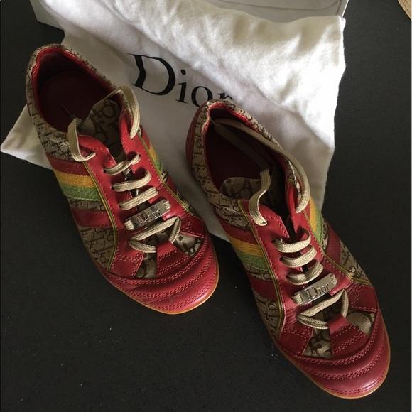a883c1ab281c Christian Dior Shoes - 🔥SALE🔥Authentic Dior Rasta Sneaker!
