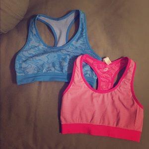 Spalding Other - Reversible sports bra set