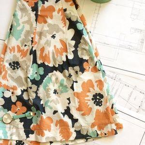 MERONA a-line Floral skirt