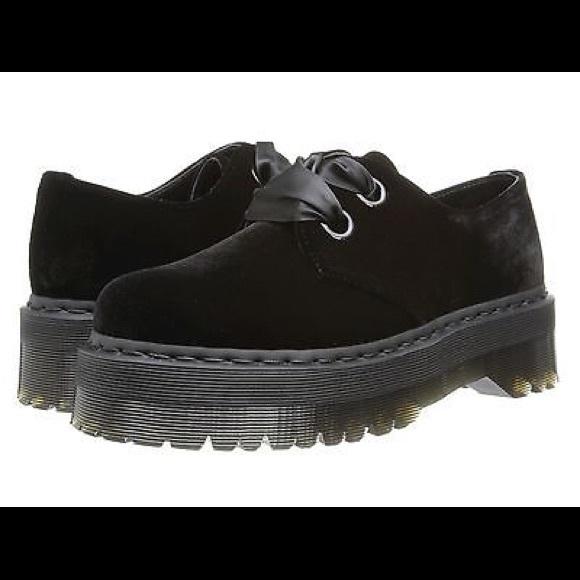 d278de7ef5144 Dr. Martens Shoes | Iso Dr Marten Holly Velvet Shoe Size 6 7 Or 8 ...