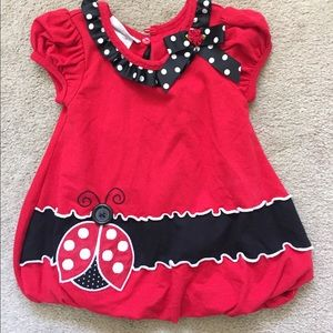 Bonnie Jean Other - Super Cute Toddler Ladybug Dress NWT!