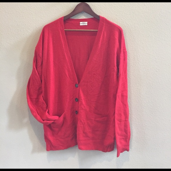 Madewell - Madewell tomato red sweater from Ashley's closet on ...