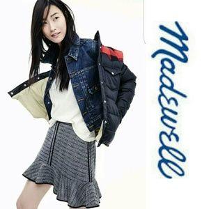 Madewell Tweed Skirt