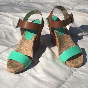 BCBG Generation Wedge Sandals
