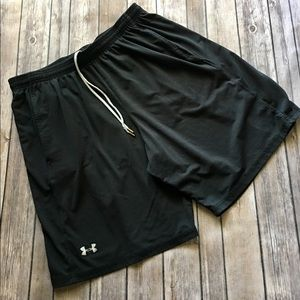Under Armour Other - Under Armour- Men's Black Athletic Shorts