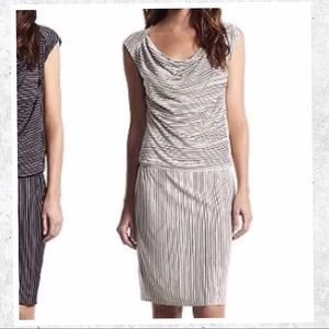 Derek Lam Dresses & Skirts - 🇺🇸 MD Sale Derek Lam striped drape dropped dress