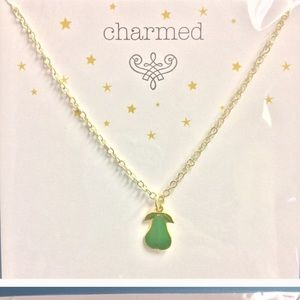 Jessica Elliot Jewelry - Pear charmed necklace
