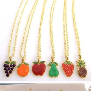 Jessica Elliot Jewelry - Charmed necklace grapes