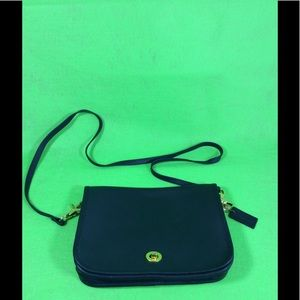 Navy Blue Hunt Club Shoulder Bag