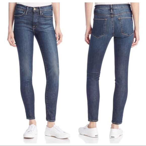 Frame Denim Jeans   Frame Le High Skinny In Harvard 27   Poshmark