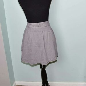 American Eagle Outfitters Dresses & Skirts - American Eagle Light Grey Flowy Skirt
