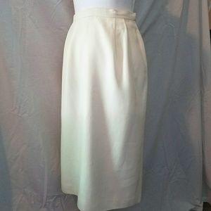 Long Kasper Skirt - Ivory