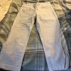 Miraclesuit Pants - Miraclesuit white capri pants