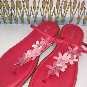 Sonoma Other - Girls Kohl's Sandals Pink With Flowers
