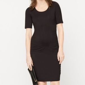 A Pea in the Pod Dresses & Skirts - Pea in the Pod - Side Ruched Maternity Dress