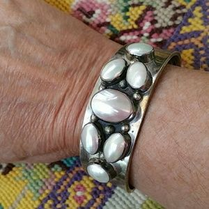 Jewelry - PRICE SLASHED GORGEOUS MOTHER OF PEARL