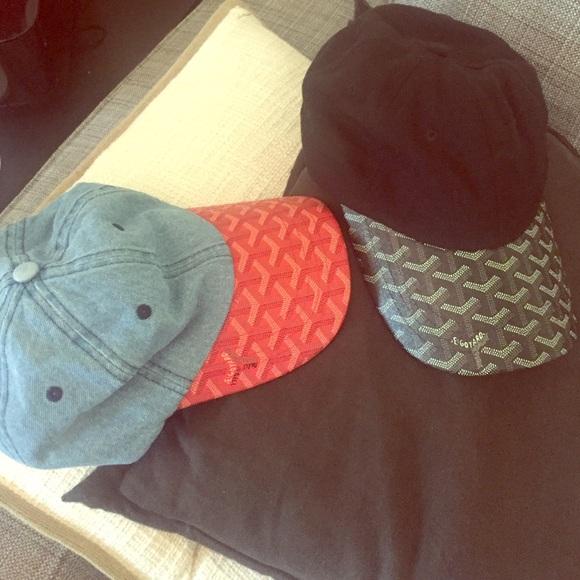 7a0f0db3c90 Goyard Accessories - Bundle caps received as gift. Goyard look-alike.