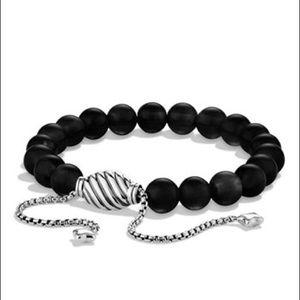 David Yurman Other - David Yurman Spiritual Beads' Bracelet - Onyx