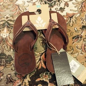 Reef Shoes - Reef premium leather sandals 🌞