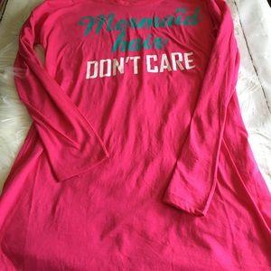 b5cb0ecc27 Intimates   Sleepwear - New 🐚Mermaid Hair Don t Care🐚 Sleep Shirt
