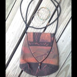 Handbags - Vintage Boho Embroidered Crossbody Purse