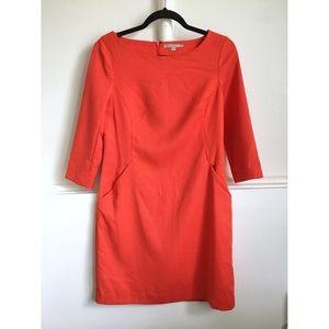 GAP orange shift dress!