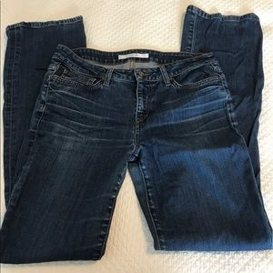 Joe's Jeans Denim - Joes jeans the Muse distressed boot Cut jeans.