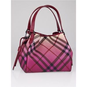 Burberry Handbags - BURBERRY Novacheck Ombré bilmore shoulder bag tote