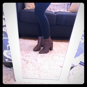 H&M Brown Booties