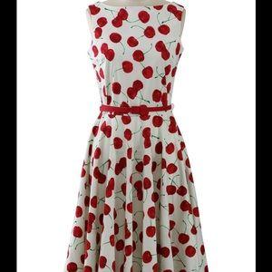 chicwish Dresses & Skirts - Cherry midi dress
