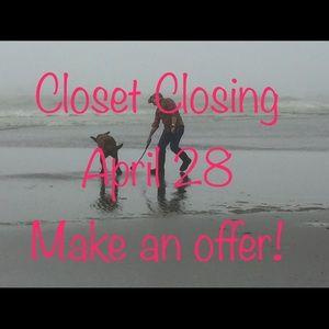 Closet Closing!