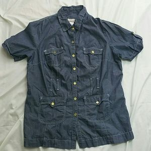 Baby Phat Shirt Size 2X Button Down