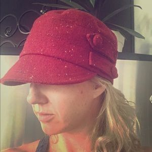 San Diego Hat Company Accessories - 🌹Adorable red hat
