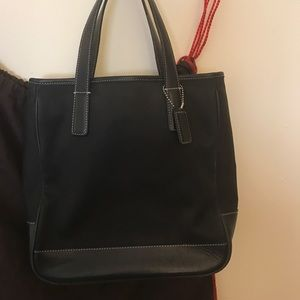 Coach Bags - Canvas and Leather Coach Tote
