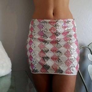 do & be Dresses & Skirts - Sequin mini skirt nwot